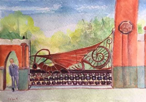 Gaudí's Dragon's Gate
